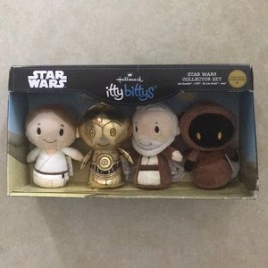 NEW! Star Wars Itty Bittys Collectors Set